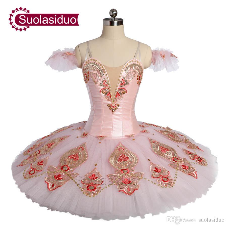 New Arrival Adult Pink Classical Ballet Tutu The Fairy Pancake Stage Performance Costumes Women Ballet Dance Apperal Girls Ballet Skirt