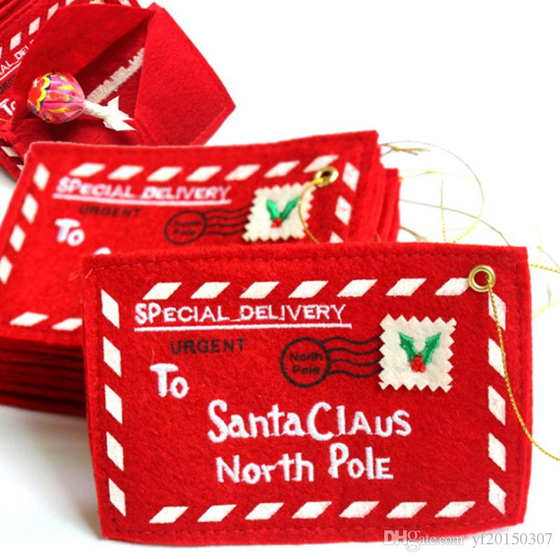 Bolsa de tarjetas de felicitación de Navidad Dulces Envoltorio de Navidad Regalos de Navidad perfectos para fuentes de fiesta de amigos