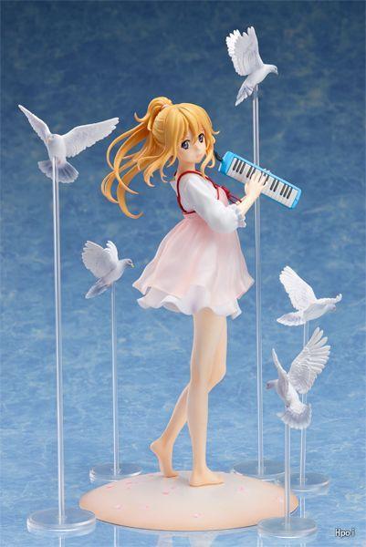 Anime modèle jouet cadeau Avril est ton mensonge. La version vestimentaire décontractée de Misono Kaoru en boîte.