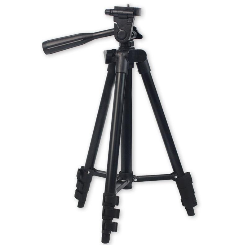 DSLR камеры штатив стенд фотография фото видео алюминиевая камера штатив стенд для телефона / с сумкой