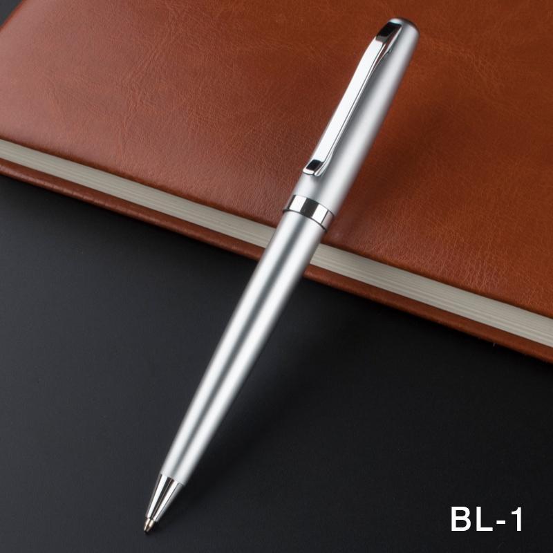 Freie Verschiffen-Metall Gelschreiber mit 0,5 mm Black Ink Refill Kugelschreiber Unterschrift Stift für Weihnachtsgeschenk