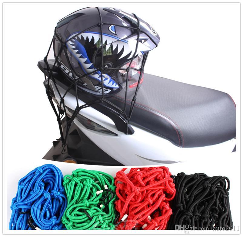 High Elastic Motorcycle Helmet Net Luggage Bag Net Motorbike Fuel Tank Sundry String Rope 40 cm 5 color