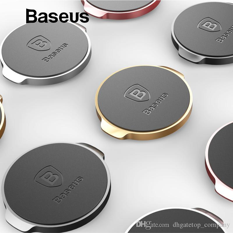 Baseus Magnetic Car Phone Holder for Dashboard Air Vent Mount Magnet Car Holder Stand for Desk Wall Sticker Mobile Phone Holder