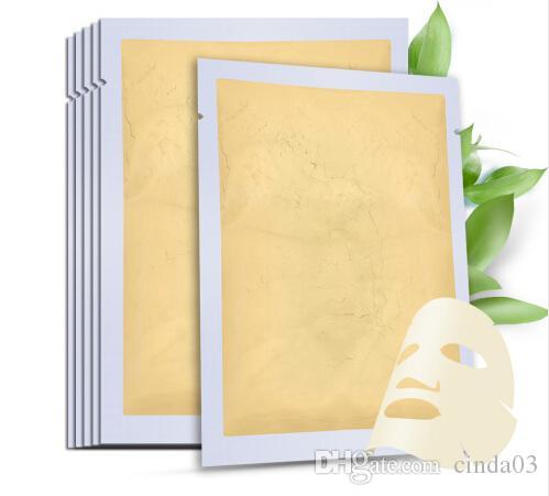 Gorący Sprzedam 24K Gold Collagen Active Face Maska skóra nawilżająca pielęgnacja skóry maski na twarz Maska
