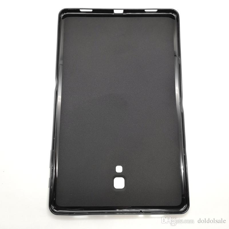 Silicone macio TPU tampa traseira para Samsung Galaxy Tab A 10.5 SM-T595 SM-T590 100pcs T590 T595 Tablet Pouch Case + Stylus Pen