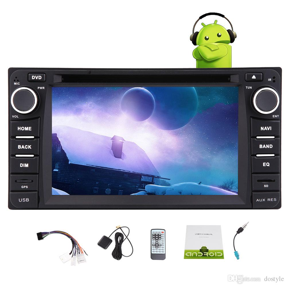 Android6.0 Reproductor de DVD para auto para TOYOTA Corolla EX Quad Core Estéreo para automóvil Navegación GPS Wifi Bluetooth GPS FM / AM Receptor de radio 1080P