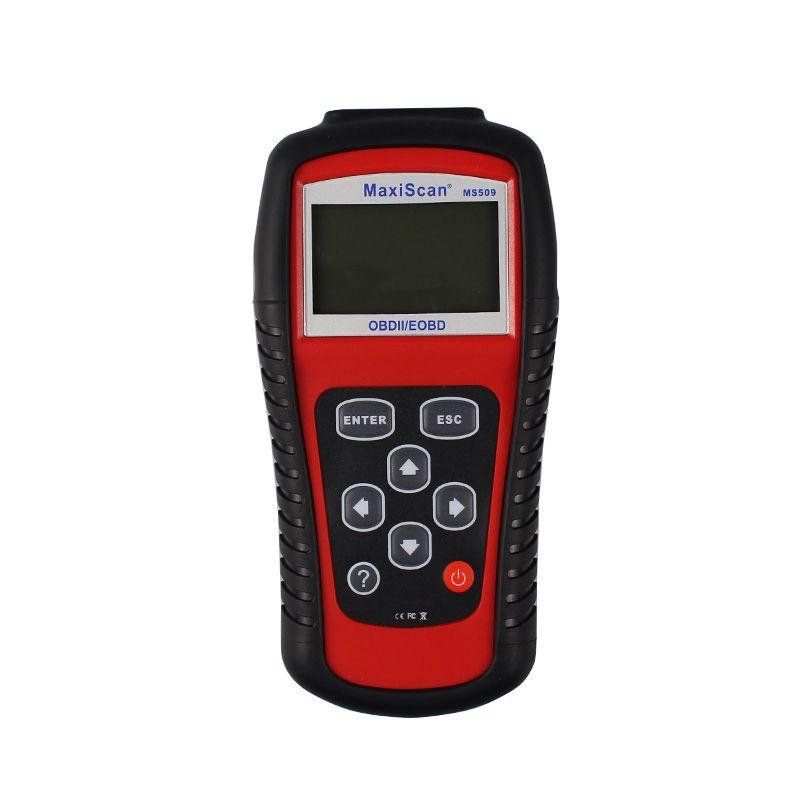 MaxiScan MS509 fabrika fiyat OBDII / EOBD CAN Tarayıcı aracı ms509 Otomatik Kod Okuyucu Teşhis araçları WorkFor çoğu araba KW830 daha iyi / KW808