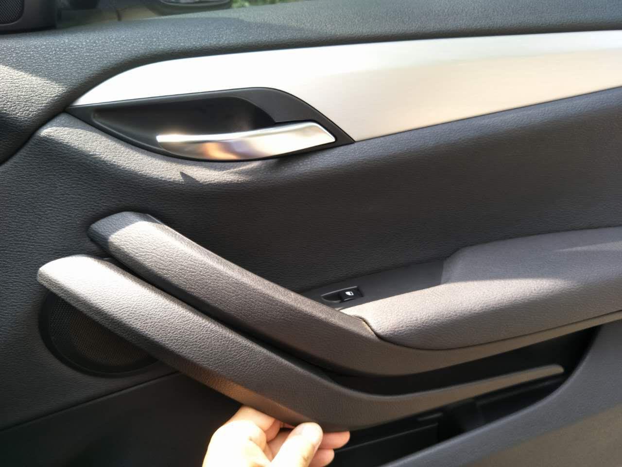 Compre Fionsee Abs Manija Interior De La Puerta Del Automovil Para Bmw X1 E84 Manija Interior Adorno 2010 A 2015 A 31 97 Del Yhh2089871607 Dhgate Com