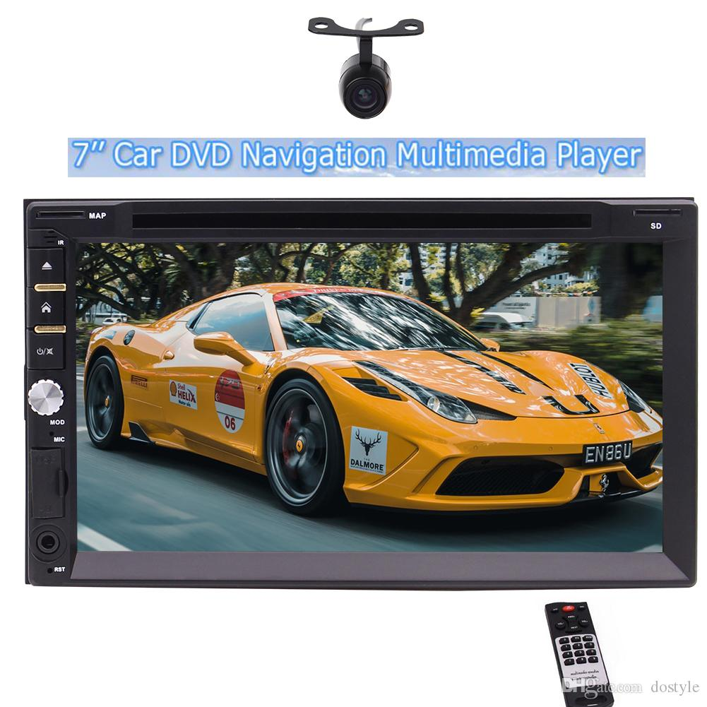 "Free Back up Camera as gift,Eincar 7""Double din Wince8.0 Car DVD Player In dash Head Unit No-GPS FM/AM/RDS"
