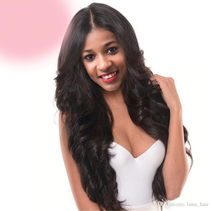 100% unprocessed long lasting virgin human hair natural color new aaaaaa big curly long full lace top wig for sale