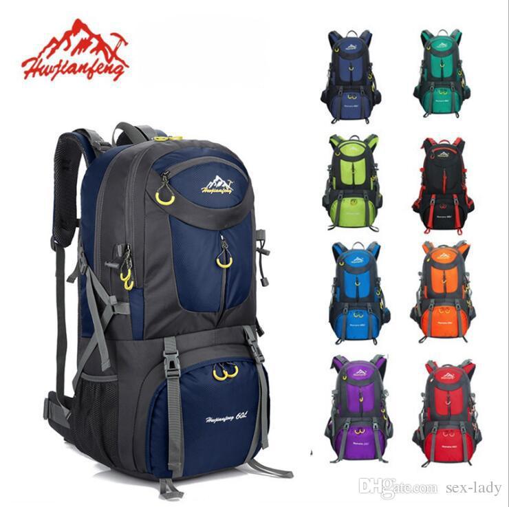 50L Waterproof Outdoor Hiking Climbing Trekking Backpack Rucksacks Sports Bag UK