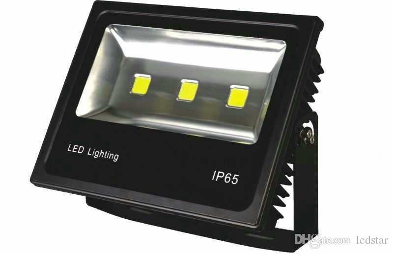 100W 150W 200W 400W 500W Projecteurs leds haute luminosité étanche IP65 lumières d'inondation menées extérieures AC 85-265V avec la prise US EU UK UK