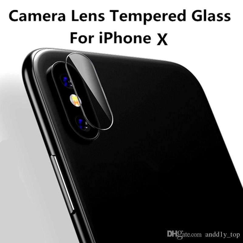 newest 3bd3e 4291e For Iphone X Camera Lens Protective Protector Cover Soft Fiber Tempered  Glass For Iphone 8 8PLUS 7 7 PLUS The Best Screen Protector Cell Phone ...