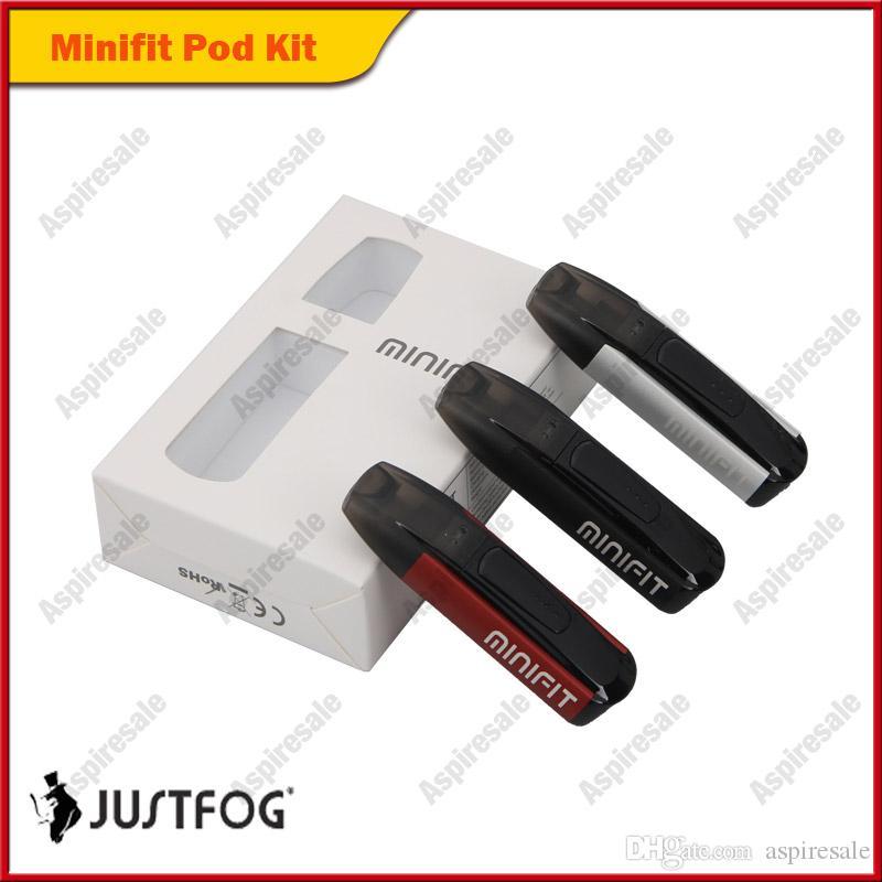 Аутентичный стартовый комплект JUSTFOG MINIFIT 370 мАч, универсальный набор Vape с аккумулятором MINI FIT, компактное устройство подачи Vaping 100% оригинал