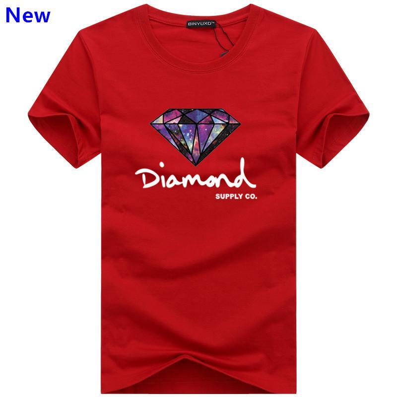 Moda t shirt diamante uomo donna Abbigliamento 2018 Casual tshirt manica corta da uomo Brand designer Summer tee shirts J02