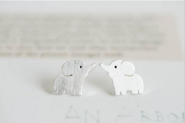 Fashion Elephant Stud Gold Stud per il naso degli orecchini Orecchini Donne Spedizione Inserire all'ingrosso Up GRATUITAMENTE DWNLQ