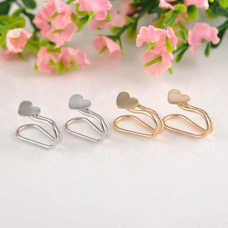 Fashion 20pc Silvery Golden Ear Cuff Earrings Women Charming Hot Non Piercing Cartilage Ear Clip Earring For Women Girls Jewelry Accessories