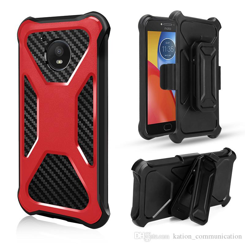 3 in 1 Belt Clip Stand Armor Heavy Shockproof Hybrid Hard Case Cover For MOTO Z2 Play Z2 Force E4 plus G5 E4