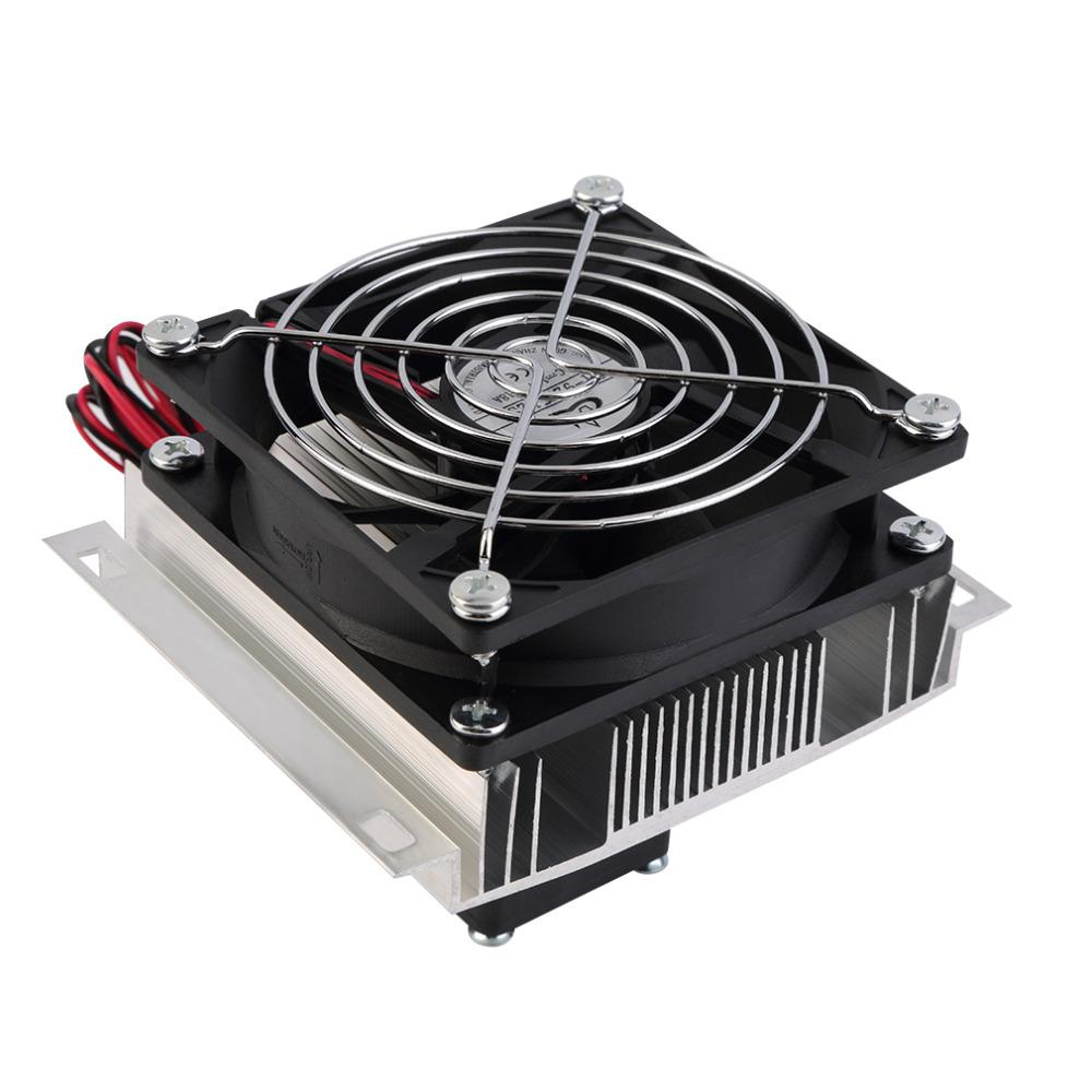 Freeshipping nuovo termoelettrico Peltier refrigerazione corredo del sistema del dispositivo di raffreddamento del dissipatore di calore ventola del radiatore PeltierSystem Kit trasporto libero di raffreddamento