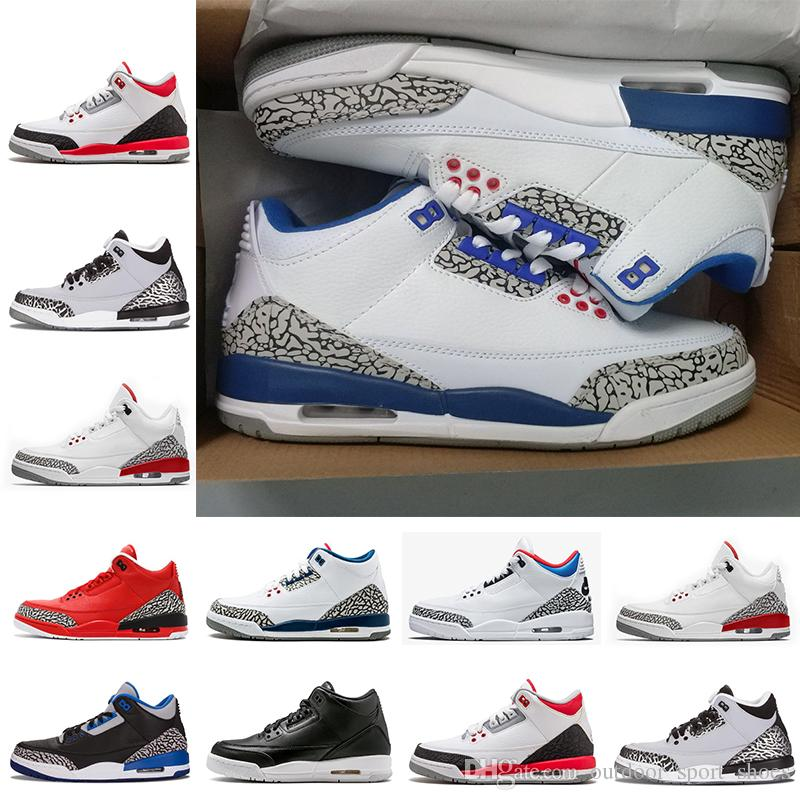 2018 Leather III Korea Man Women Basketball Shoes IIIs Limited Shoes White Seoul Sports Sneakers top Quality size 41-47