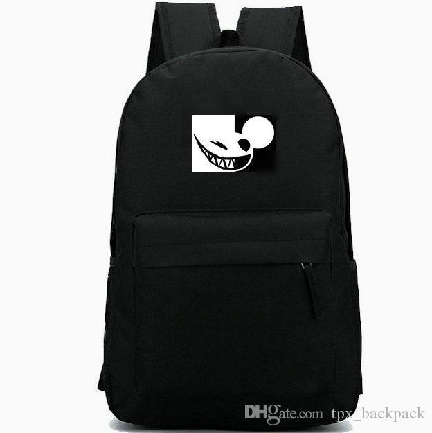 تحميل Deadmau5 Daypack حقيبة جويل توماس زيمرمان حزمة اليوم أعلى 100 DJ حقيبة مدرسية packsack عارضة حقيبة جيدة المدرسية على ظهره الرياضة في الهواء الطلق
