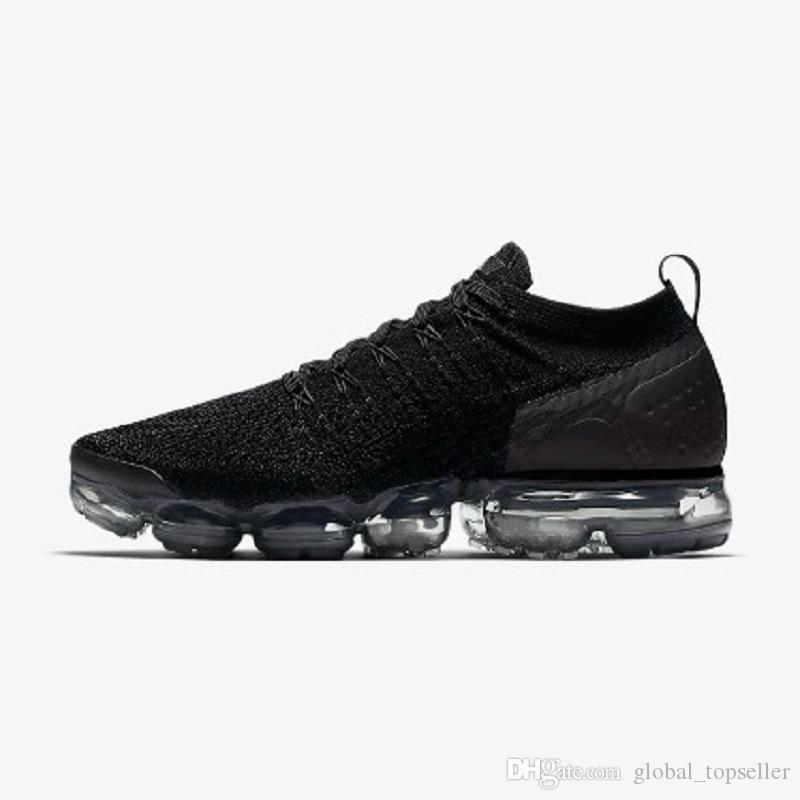 Scarpe Sneakers Nike Air Max Vapormax 2018 V2.0 2018 New Rainbow 2018 2.0 BE TRUE Uomo Donna Shock Running Shoes For Real Quality Designer Di Moda