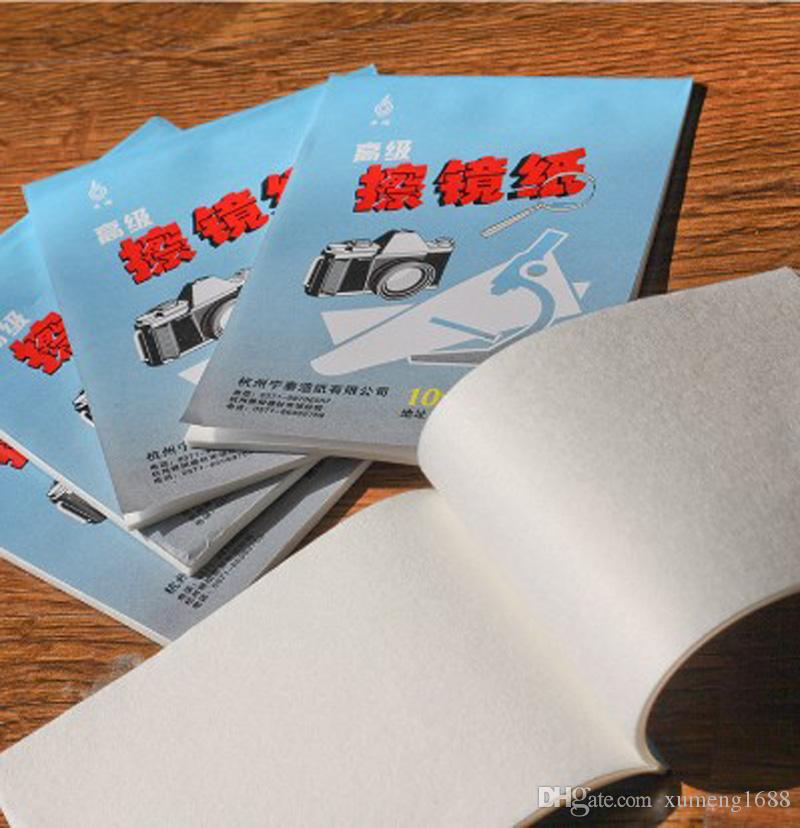 Объектив камеры очистки бумаги 50 листов мягкой оптики ткани чистой бумаги протрите буклет для Canon Nikon Sony объектив камеры фильтр стекла