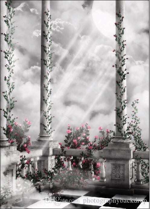 Tema de Pascua cuento de hadas de vinilo Fotografía telones de fondo Props Digital Photo Studio impresa fondo TTW-21