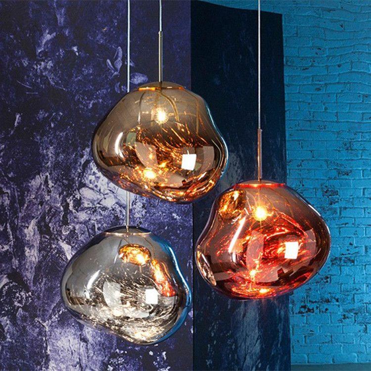 Лава-лампы лава-лампы Dinning Room Светильник Nordic Creative Creative Bar Cafe LED PVC подвесной свет