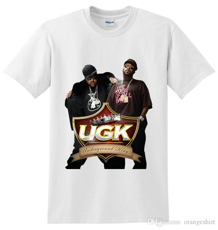 new UGK UNDERGROUND KINGZ Pimp C Hip Hop men t shirt S M L XL to 4XLT BLACK