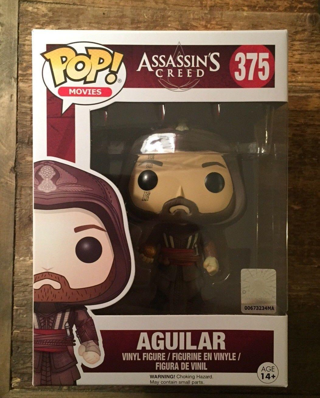 NEW !!! Movie Assassin/'s Creed !! Funko POP Aguilar  375
