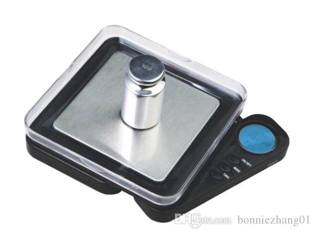5pcs 0.01g/ 100g 200g Pocket Electronic Scale LCD Digital Jewelry Scales Weight Balance Kitchen Gram Scale