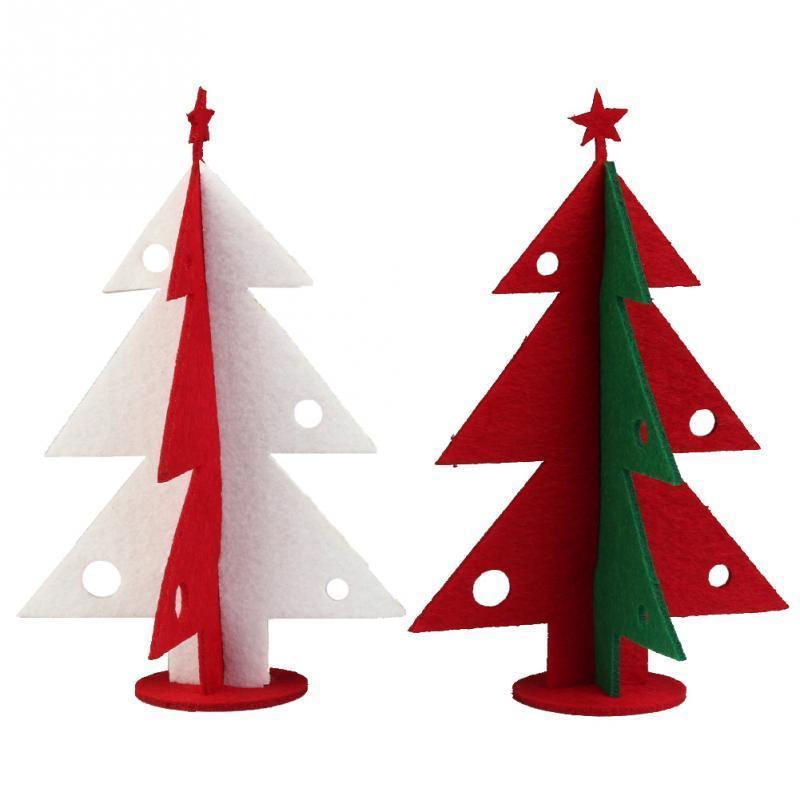 Одна Пара Рождественская Елка Украшения Праздник Номер Декор Дерево Украшение