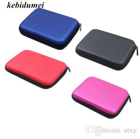 Kebidumei Classic EVA Hartschalenetui für 2,5 Zoll Power Bank HDD Festplattenlaufwerk Protect Protector Tasche Gehäuse Case