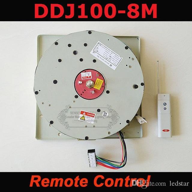 Авто дистанционно управляемой лебедкой хрустальная люстра лебедка Lighting lifter электрические лебедки, подъемные света лампа системы двигателя DDJ100 8м кабеля