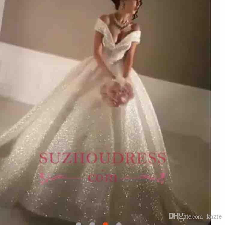 Enlace especial para vestidos de boda de bola de amigo