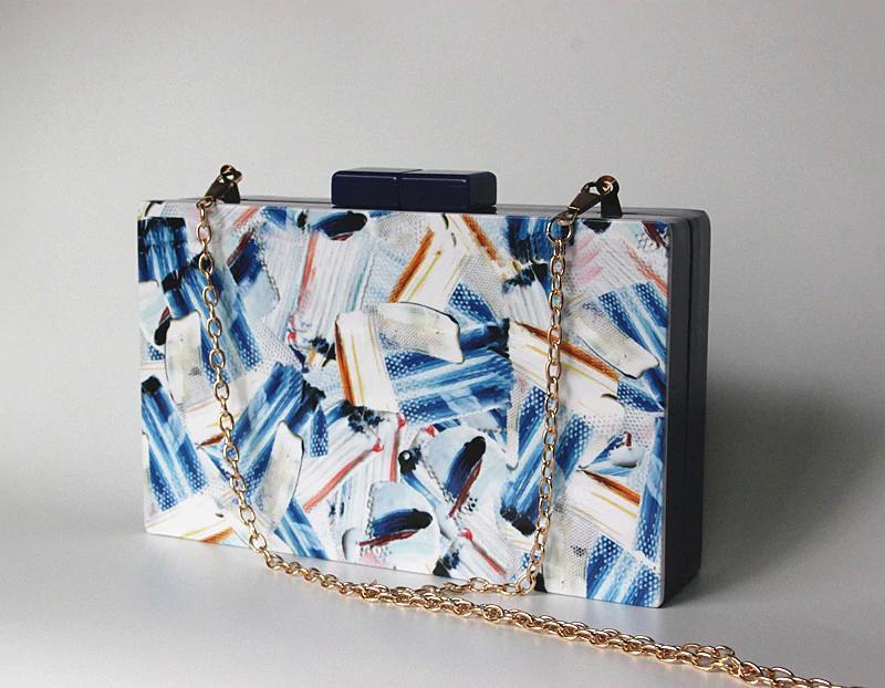 2018 Frauen Messenger Bags Marke Mode Neue Kupplung Kontrast Druck Brieftasche Frau Abendtasche Bolsa Feminina Lady Casual Handtasche