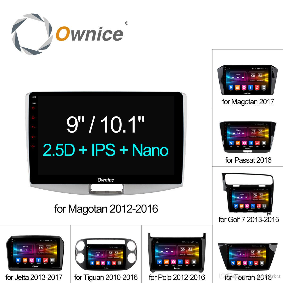 "Ownice C500+ Octa Core 10.1""/9"" Android 6.0 Car Radio DVD player GPS CAR DVD For VW Magotan POLO PASSAT Golf 7/R/GTE Tiguan Touran Jetta"