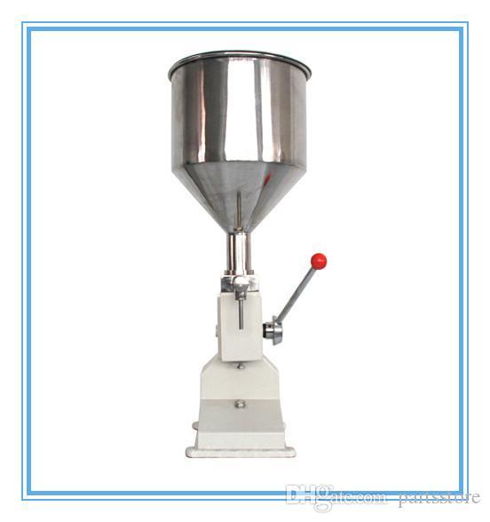 Machine manuelle de remplissage de nourriture 1-50ml pression manuelle de la pâte de pâte de liquide de distribution de liquide de conditionnement de l'huile de conditionnement en huile