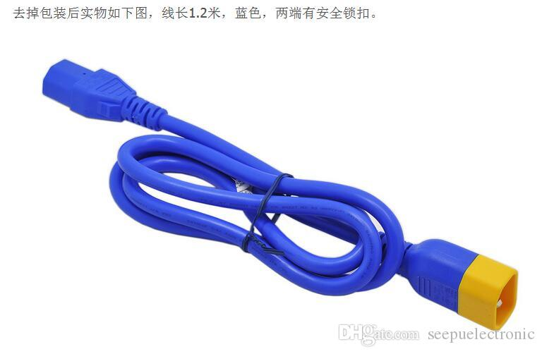 Cavo di alimentazione del cavo di alimentazione originale per server APC Linea blu C13 C14 Schneider Electric AP8704SX590 KIT CAVI DI BLOCCO S 1.2m 0.6m IEC 320 AP8000