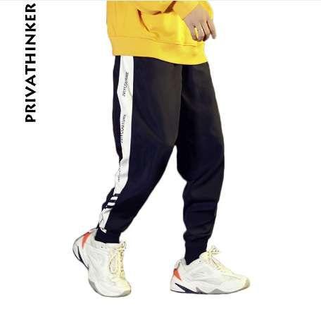 Privathinker Designer INS 2018 Hommes Joggers Streetwear Pantalon Imprimé Mâle Fashions Hiphop Punk Mode Pantalon De Jogging