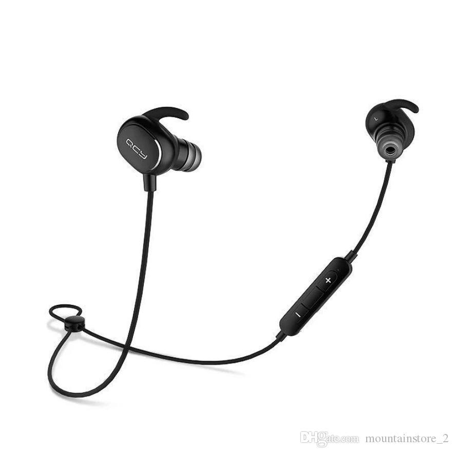 الأصلي QY19 IPX4 تصنيف sweatproof سماعات بلوتوث 4.1 لاسلكية الرياضة سماعات تشغيل aptx سماعات ستيريو سماعة مع مايكروفون