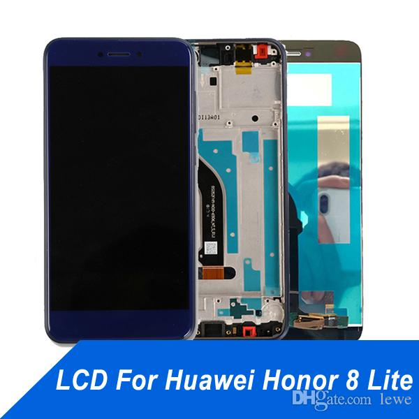Cell Phone Touch Panel for Huawei Honor 8lite LCD Display Repair Touch Screen Digitizer Assembly Screen for Honor 8 lite free shipping