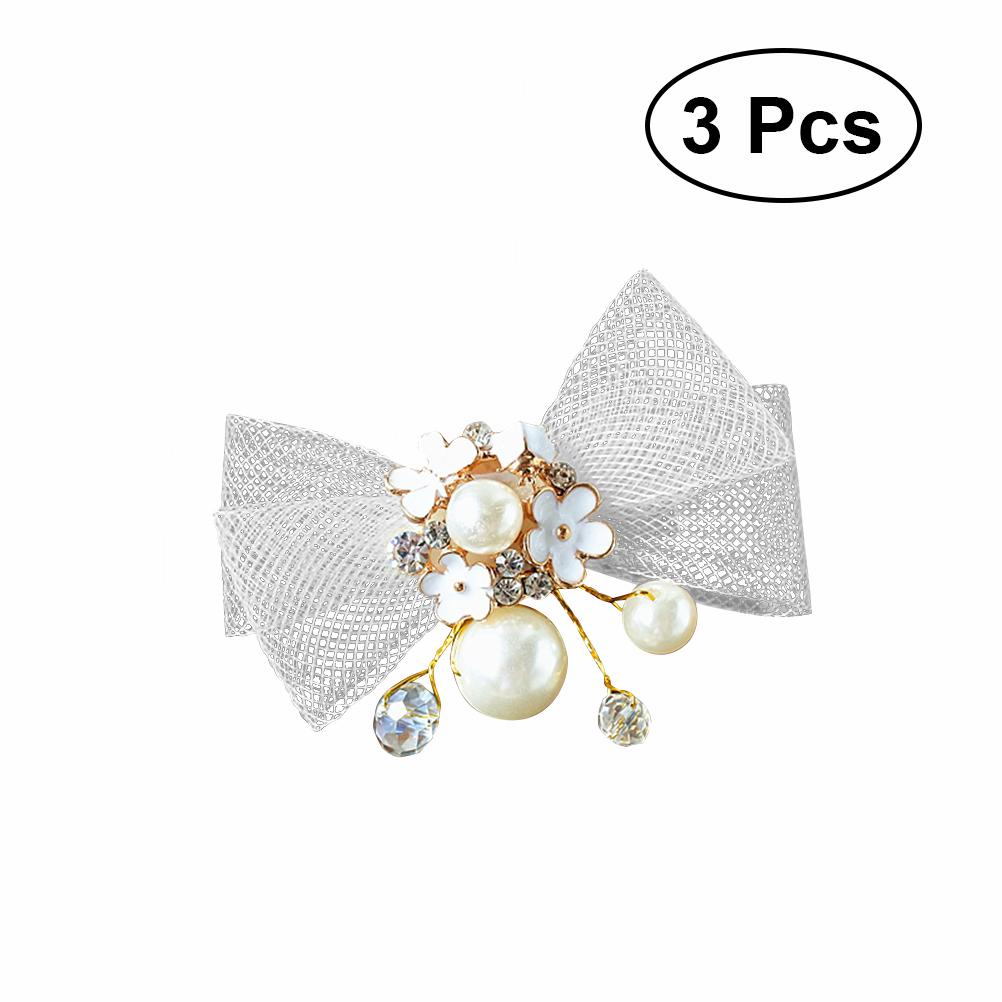 Handmade Crystal Pearl Hair Comb Hairclip Hairpin Wedding Party Hair Jewelry