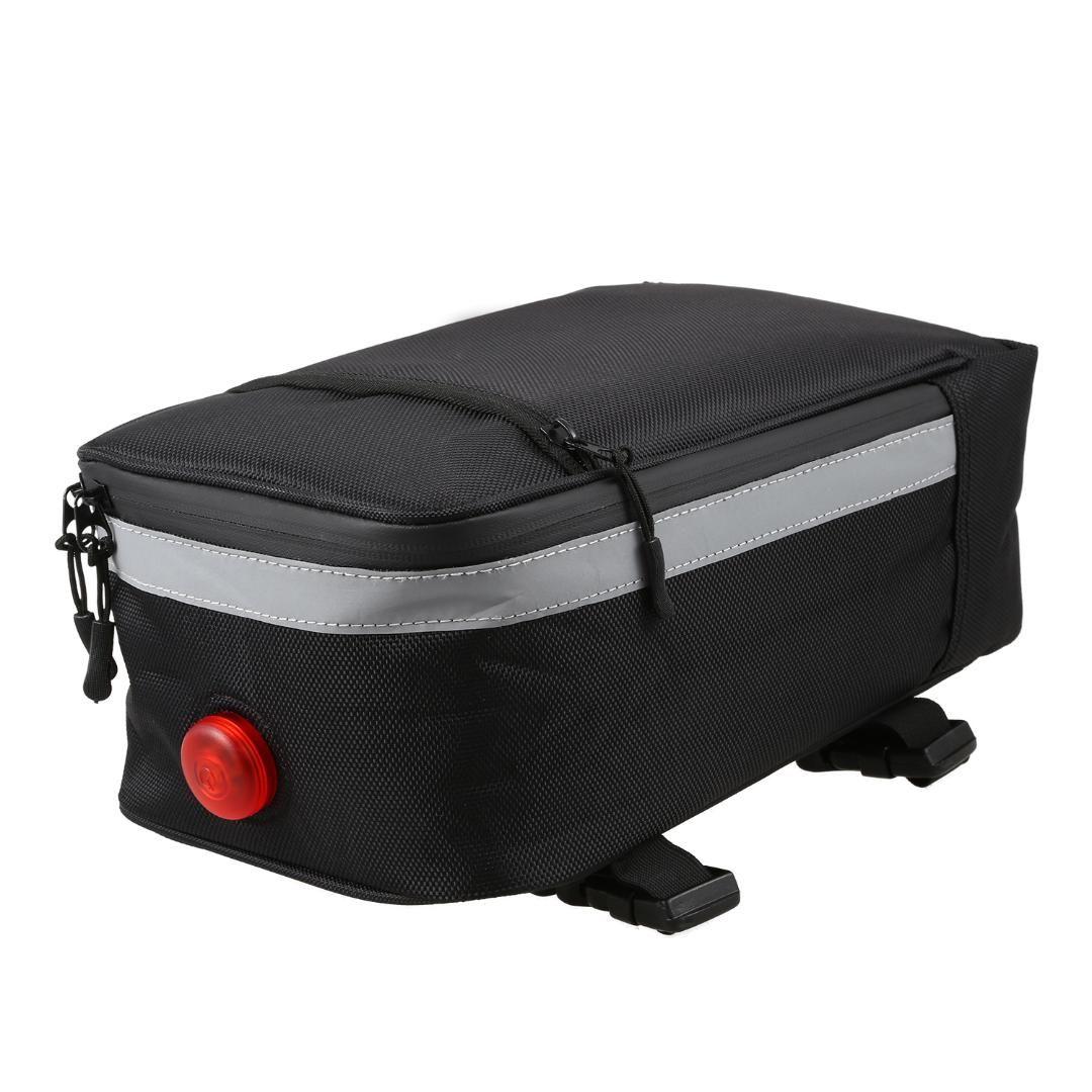 BMDT-Bicycle saddle bag back - Bicycle bag is designed for road and mountain bikes - Folding bike tool kit seat saddle wit