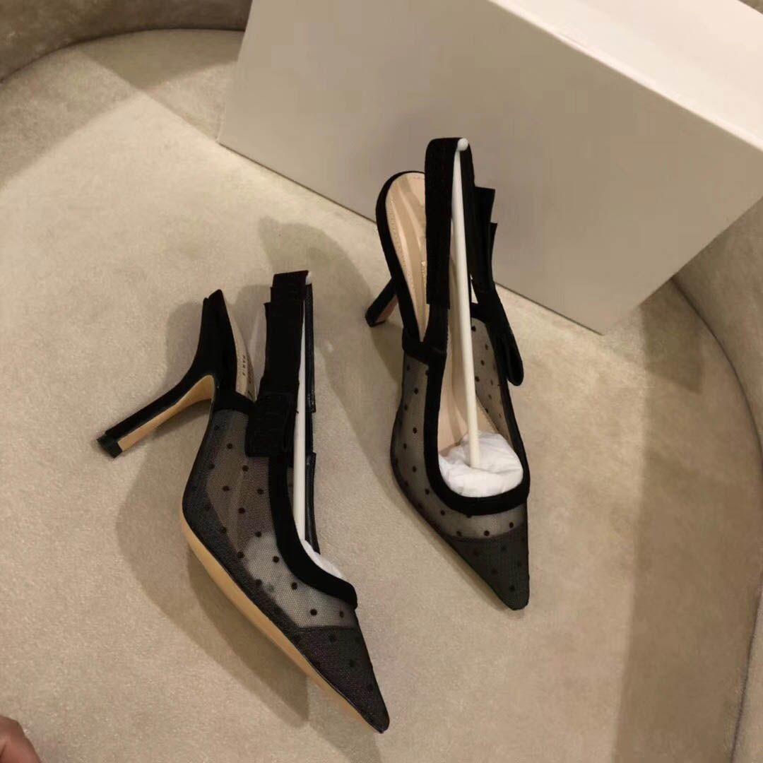 2018 beliebte Sommer Damen Sandalen Riband Metall dekoration Peep Toes Knöchelriemen Chunky Heel Schuhe Party Sexy Mode Damen Schuhe