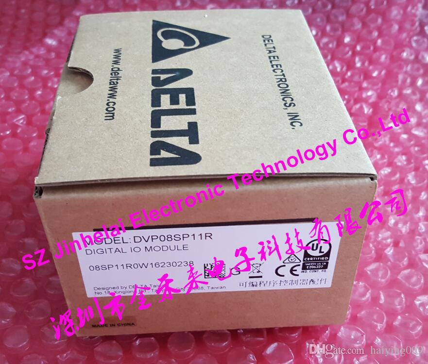 Nuevo y original DVP08SP11R DELTA PLC, extensión de 8 puntos, salida de relé de 4 entradas / 4 salidas