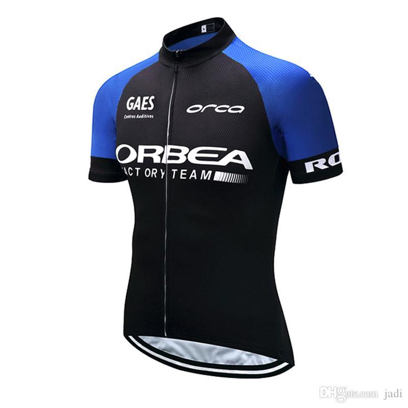 2020 Orbea verano ciclismo Jersey transpirable camisa de manga corta de la bici ropa de secado rápido de la bicicleta deportiva Ropa Ciclismo K121204