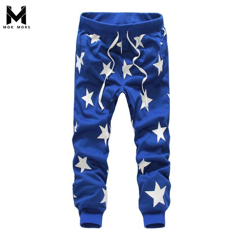 Hommes sarouel marque 2017 pantalons décontractés décontractés pantalons pour hommes pantalon tombent Crotch Pant Men joggeurs pieds pantalons suspendus entrejambe D18101305