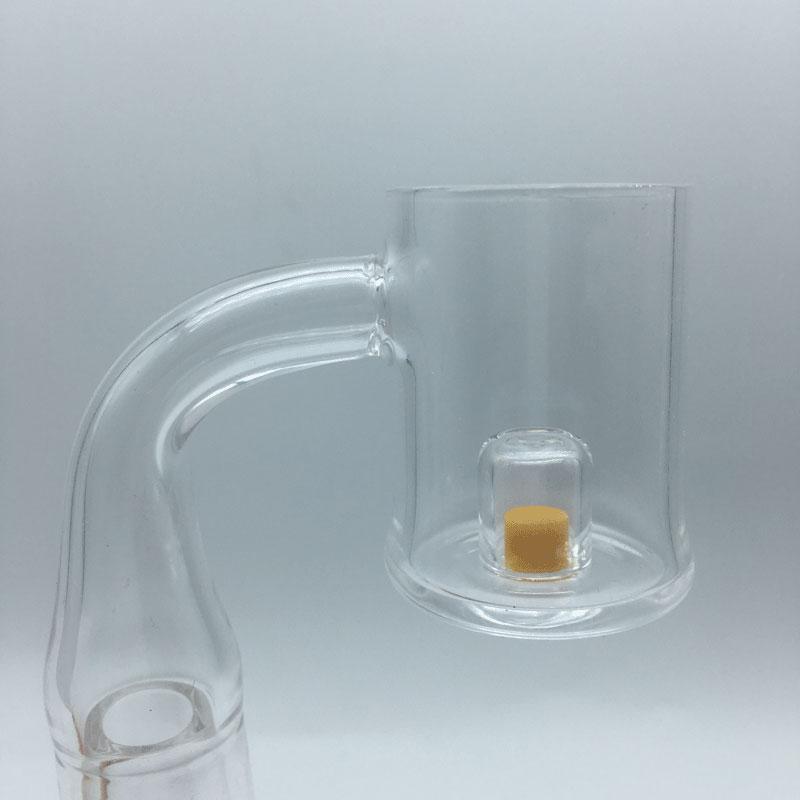 Trap Cadmium Core Reactor Quartz Banger With Thermochromic Core 10mm 14mm 18mm Male Female Quartz Thermal Banger Nails For Glass Water Bongs